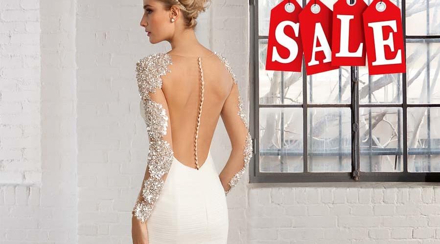 Suknie ślubne za pół ceny